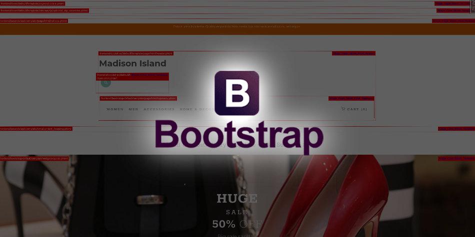 Como criar um tema Magento 1 usando Bootstrap 4